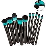 Hosaire 10 PCS cosméticos cepillo de maquillaje cepillos Set Foundation Powder Eyeshadow