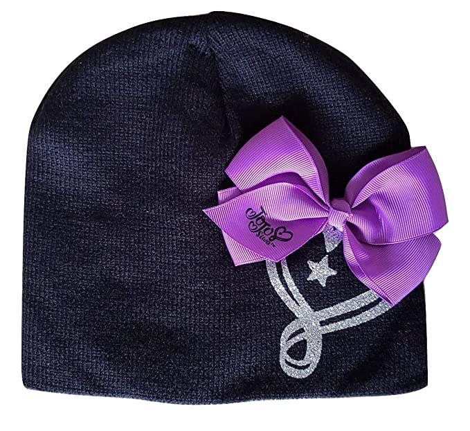 3ae571df504 Image Unavailable. Image not available for. Color  Girls JoJo Siwa Bow Beanie  Hat