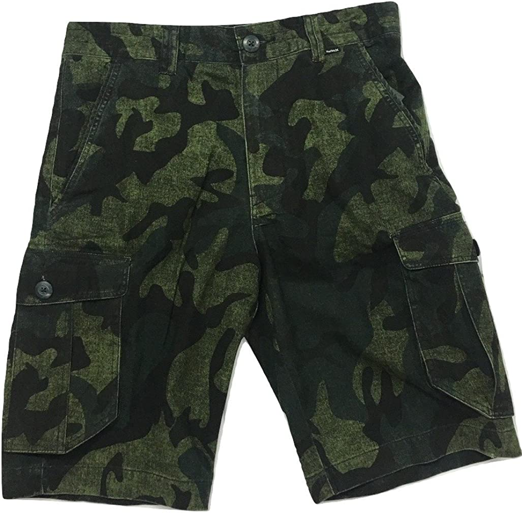"Hurley Men's Mayhem Relaxed Fit 23"" Cargo Shorts MWS0005760"
