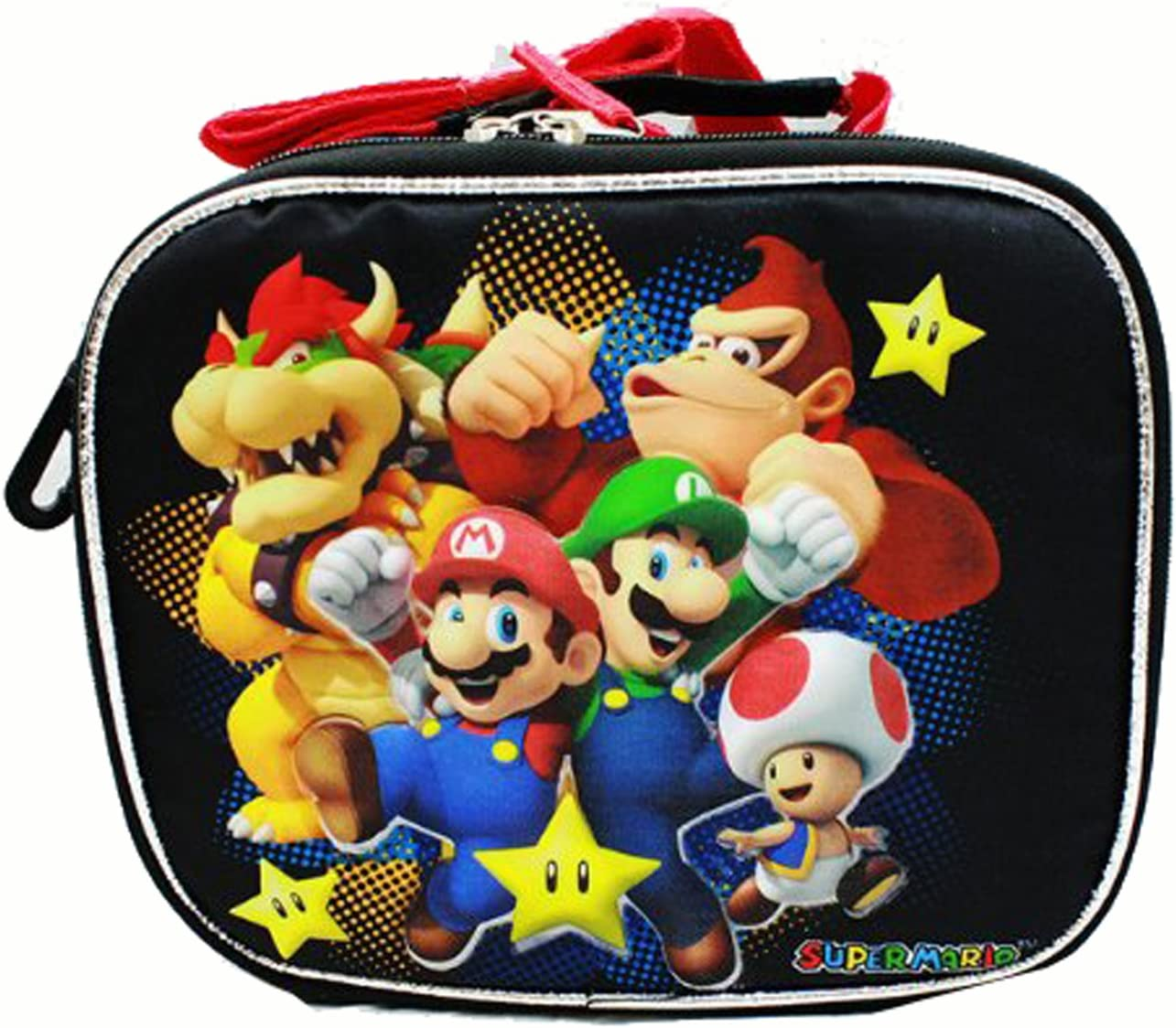 Lunch Bag - Nintendo - Super Mario Bros - Black by Super Mario Brothers: Amazon.es: Juguetes y juegos