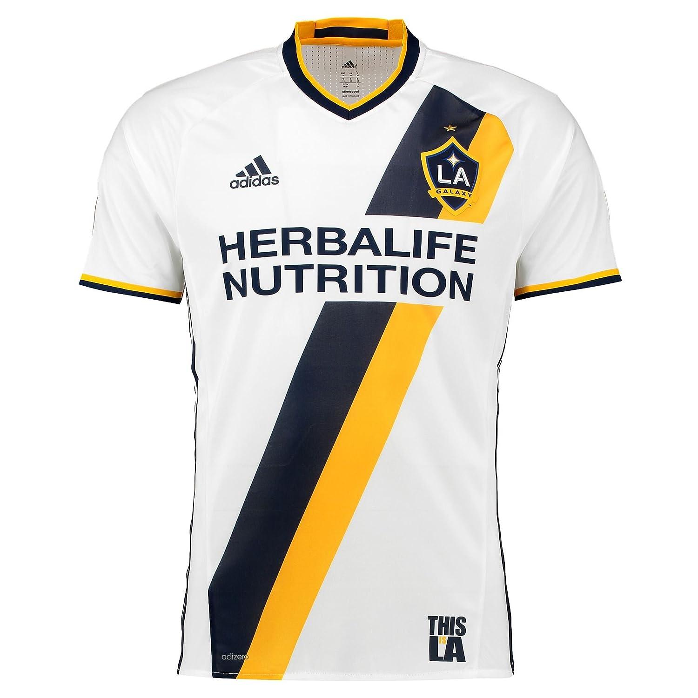 adidas LA Galaxy auténtico Primaria Jersey: Amazon.es ...