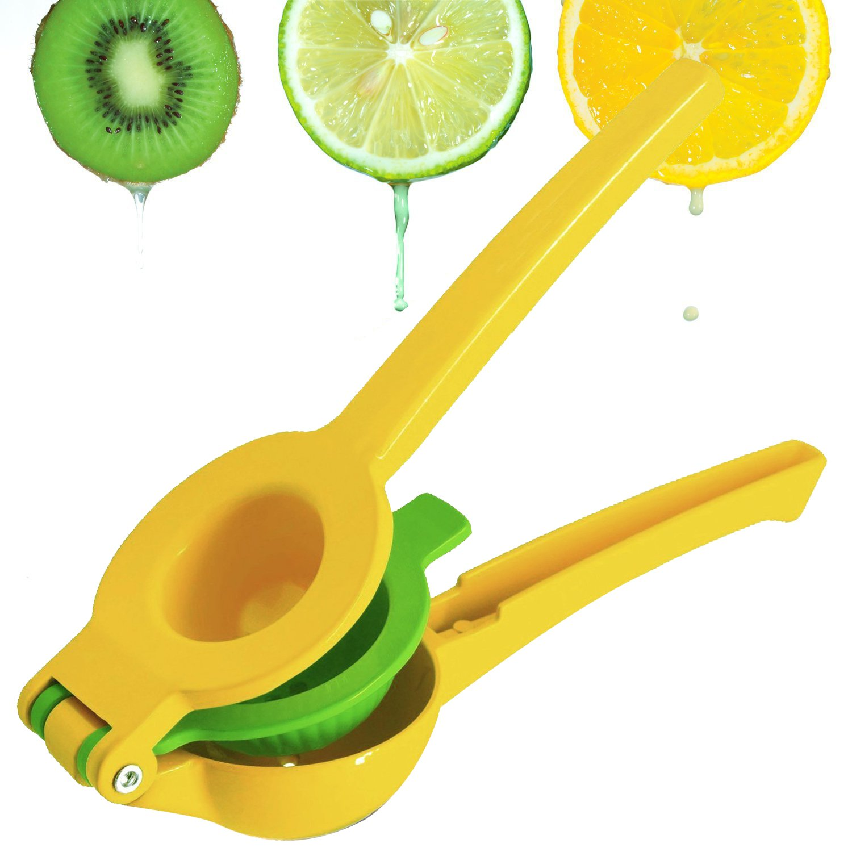 Lemon Squeezer E'YOBE Double Layer Stainless Steel Citrus Juicer Manual Lime Squeezer Press E'YOBE EYOBE900