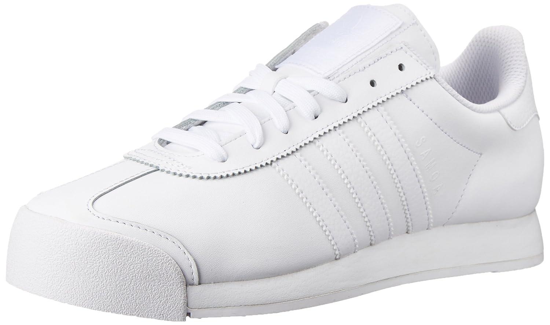 adidas Originals Men's Samoa Retro Sneaker B01DEDTXGQ 11 D(M) US|White/White/Light Grey
