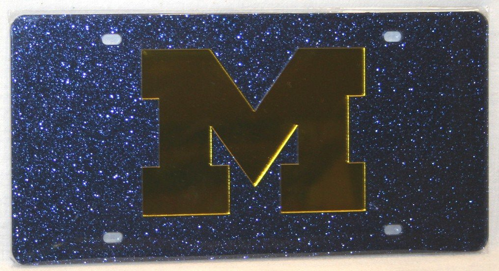 WinCraft Michigan University of S07283 Acrylic Classic License Plates