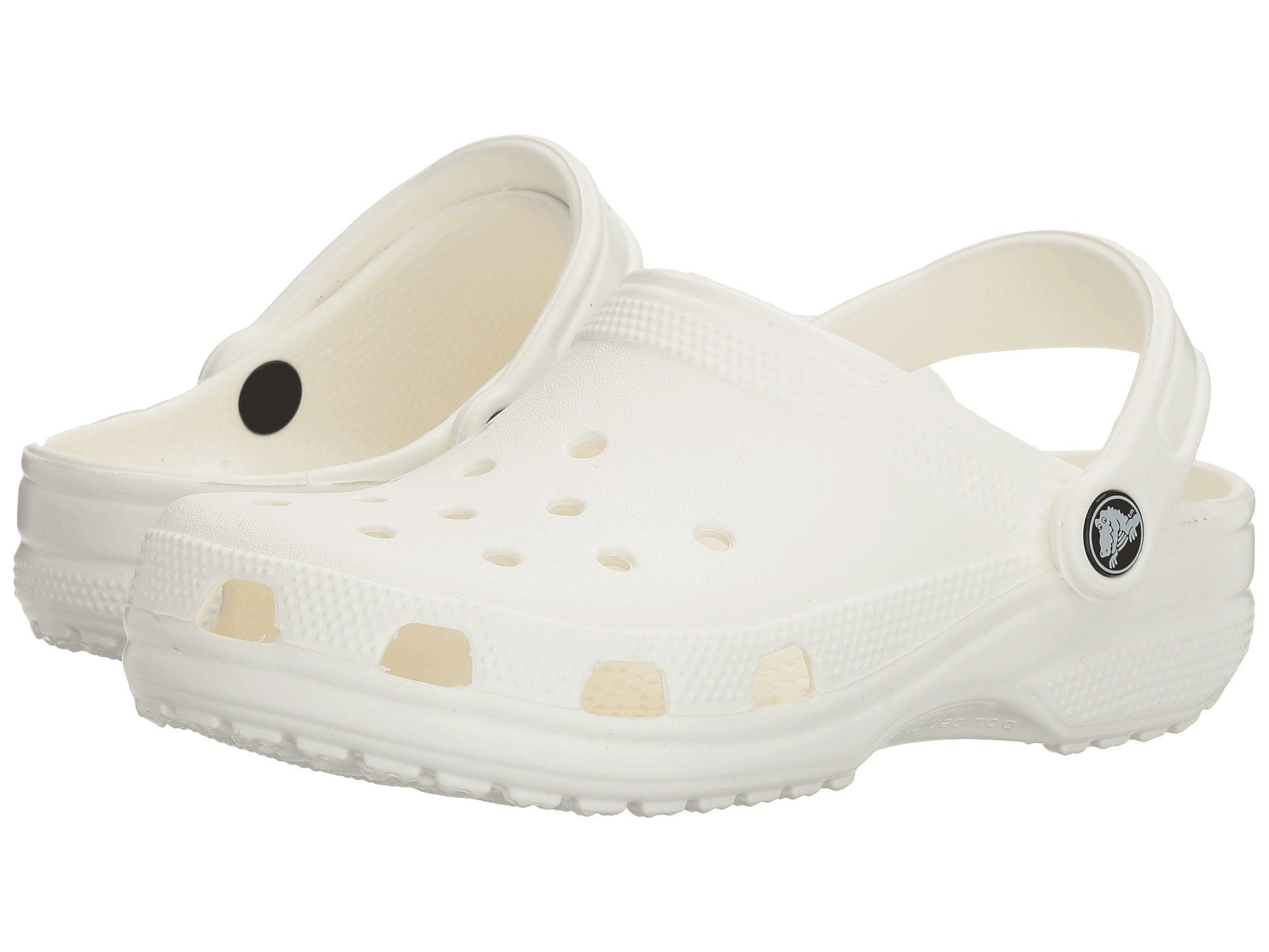 Crocs Classic Mule White - 6 US Men/ 8 US Women M US