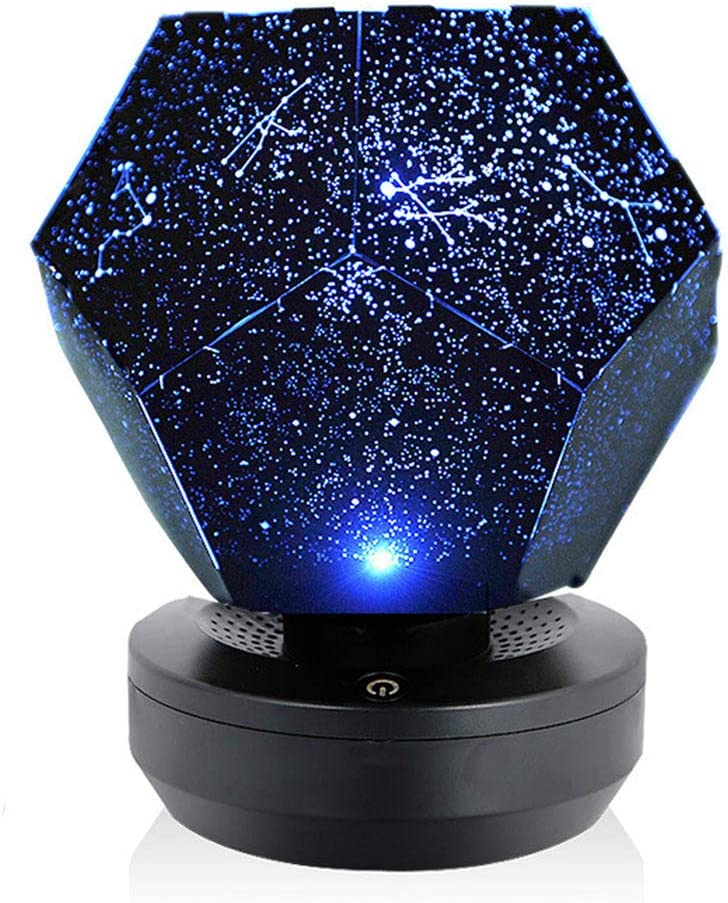 OUYG Star Projector,Starry Sky Nnight Light Galaxy Projector DIY Assembly Planetarium Lamp for Christmas Bedroom Home