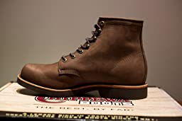 Amazon Com Chippewa Men S 6 Quot Rugged Handcrafted Lace Up