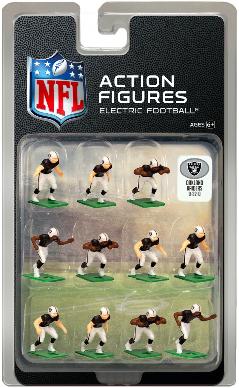 Tudor Games Oakland Raiders Home Jersey NFL Action Figure Set