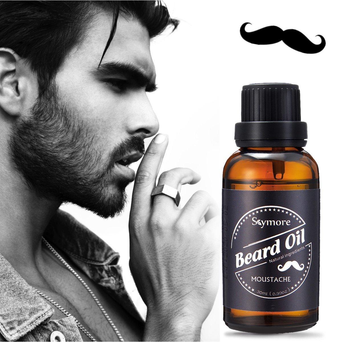 Skymore Aceite para el Cuidado de la Barba, Aceite de Barba con Ingredientes Naturales y de Alta Calidad, Hidrata la Barba, Beard Oil para Hombres, 1 Paquete (1x30 ml) Wispury