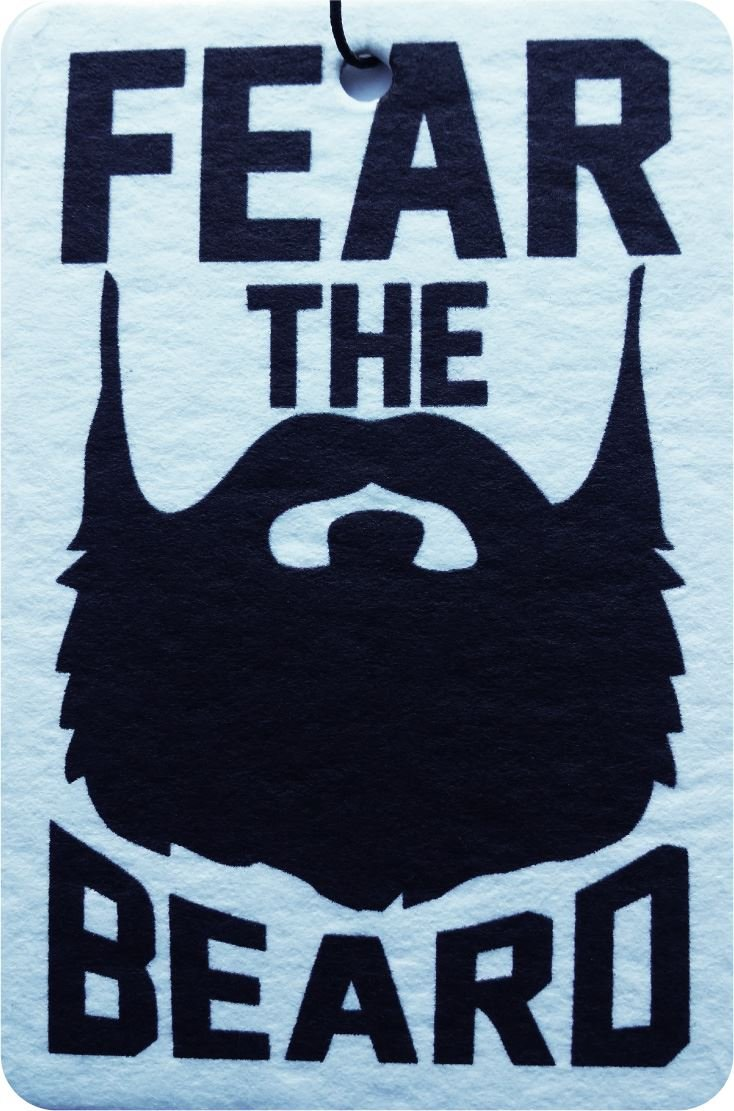Fear the Beard Car Air Freshener (Xmas Christmas Stocking Filler/Secret Santa Gift) AAF