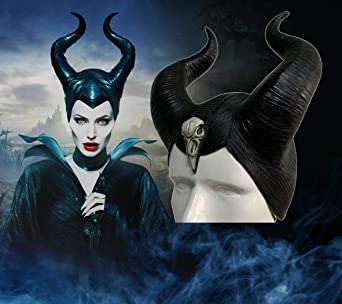 Adult Halloween Prop Party Cosplay Headwear Prop Costume Party Kangmeile Malefica Corna Cosplay Hat Maleficent Horns Maleficent Evil Queen Copricapo Maleficent Christmas Fancy Dress Accessory