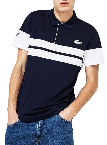 Polo técnico para Hombre Lacoste Djokovic Roland-Garros - Azul ...
