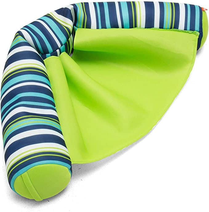 Big Joe Cool Cozumel Stripe with Lime seat Noodle Sling, One Size