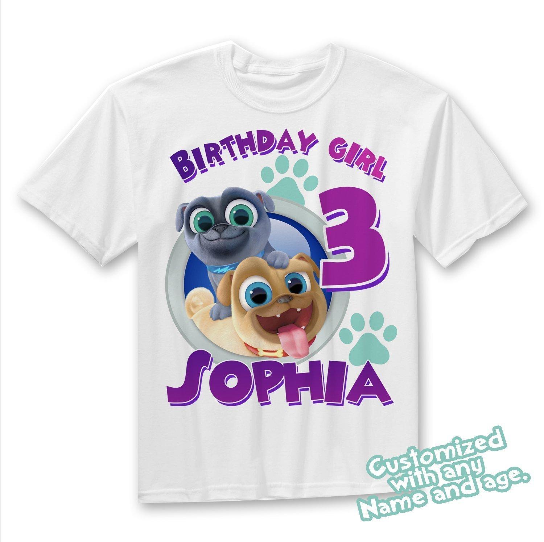 14d8e408a0fb Puppy Dog Pals Birthday girl shirt, Puppy Dog Pals.