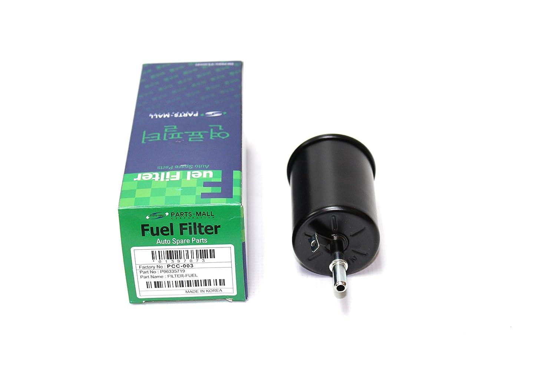 Amazon.com: Fuel Filter for Chevy Chevrolet Aveo Optra Spark suzuki verona  Daewoo Lanos Nubira Part: 96335719 , 1541086Z00: Automotive
