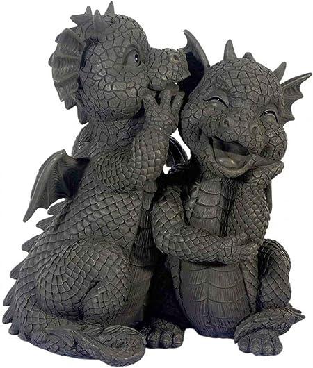 JARDÍN - par de dragones