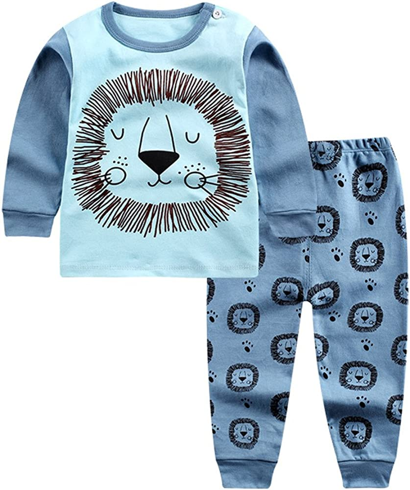 DICPOLIA Cartoon Lion Tops and Shorts Outfits Clothes Set for Toddler /& Baby