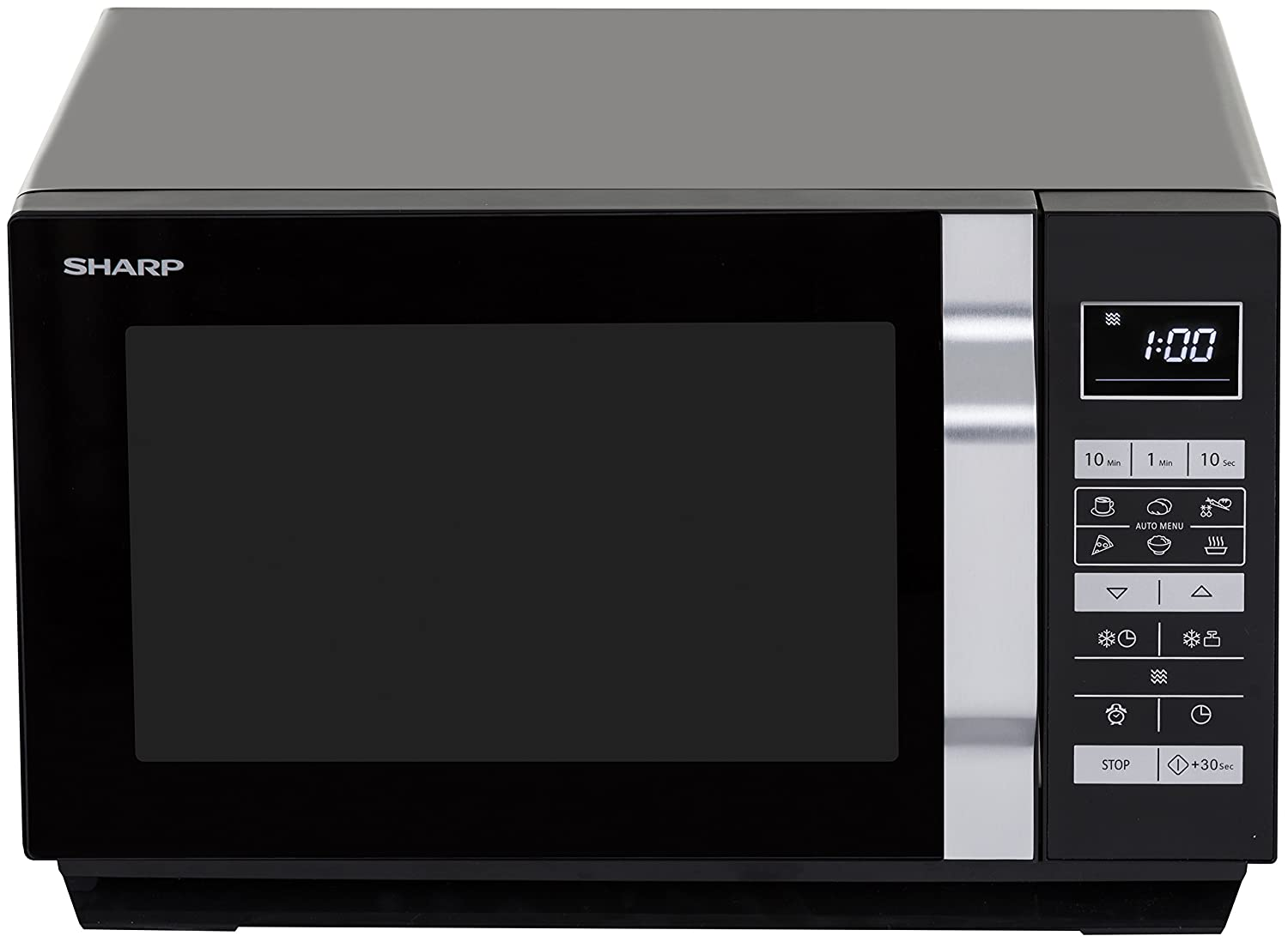 Sharp Home Appliances R-360BK Encimera Solo - Microondas (Encimera ...