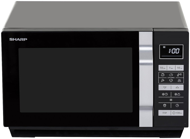 Sharp Home Appliances R-360BK Encimera Solo - Microondas ...