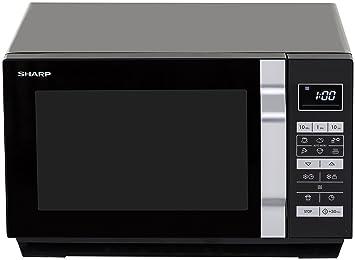 Sharp Home Appliances R-360BK Encimera Solo - Microondas (Encimera, Solo microondas,