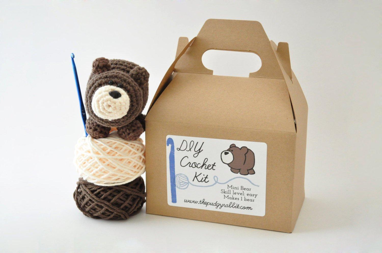 DIY Beginner Crochet Kit (Bear)