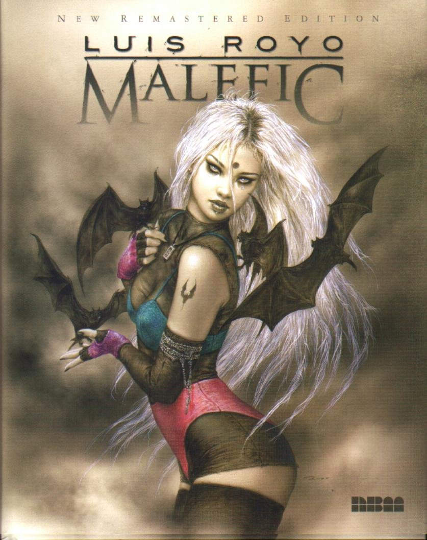 Read Online Malefic Luis Royo New Remastered Edition PDF