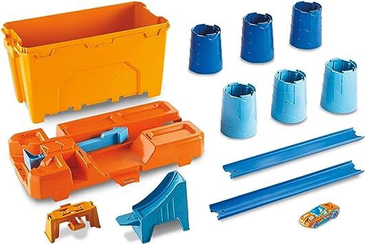 Oferta amazon: Hot Wheels - Supercaja de acrobacias, accesorios para pistas de coches de juguete (Mattel GCF91) , color/modelo surtido