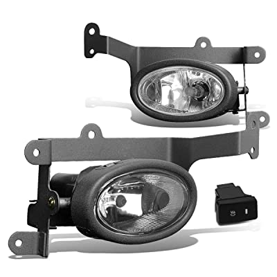 DNA MOTORING FL-ZTL-119-CH Front Bumper Fog Light, Driver and Passenger Side: Automotive [5Bkhe1003800]