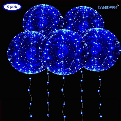Bobo Balloon LED String Light 2 x AA Battery Powered for Birthday Party Decor