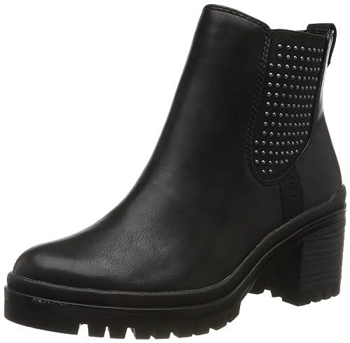 Details zu Tamaris 1 25414 23 Damen Schuhe Combat Boots Stiefeletten Lack