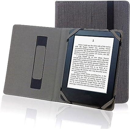 ENJOY-UNIQUE - Funda de Lino y cáñamo Natural para eReader Onyx Kobo Aura HD de 6,8 Pulgadas: Amazon.es: Electrónica
