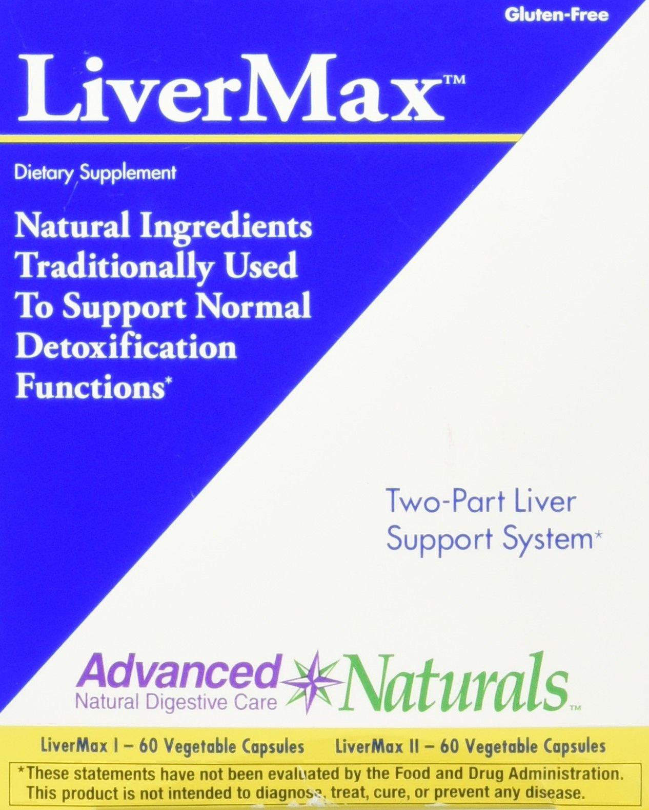 Advanced Naturals Livermax 2-Part Kit