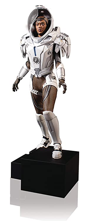 Star Trek Discovery Michael Burnham Starfleet Long Haul Space Suit Statue by Gentle Giant