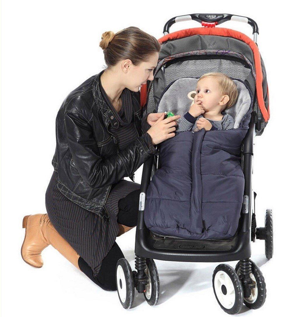 Winter Sleeping Bags Baby Envelope For Stroller Newborn Stroller Sleeping Bags Infant Winter Envelonp kids Pram Sleepsacks 0-24M (blue) by MICHEALWU (Image #3)