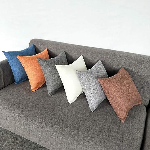 Suave Felpa Funda Cojín Cubierta Almohada Almohadilla sofá Decoración cama
