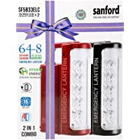 Sanford 2 In 1 Emergency Lantern, Sf5833elc Bs, Multi Color