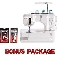 Janome CoverPro 900CPX Portable CoverHem Serger Machine With Bonus