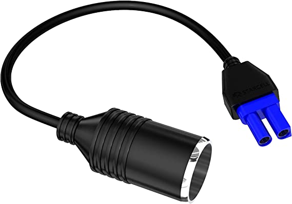 cavo con connettore EC-5 e adattatore per prese accendisigari CC Xincol