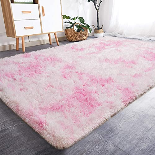 Rostyle Luxury Fluffy Area Rugs Shag Indoor Nursery Rug