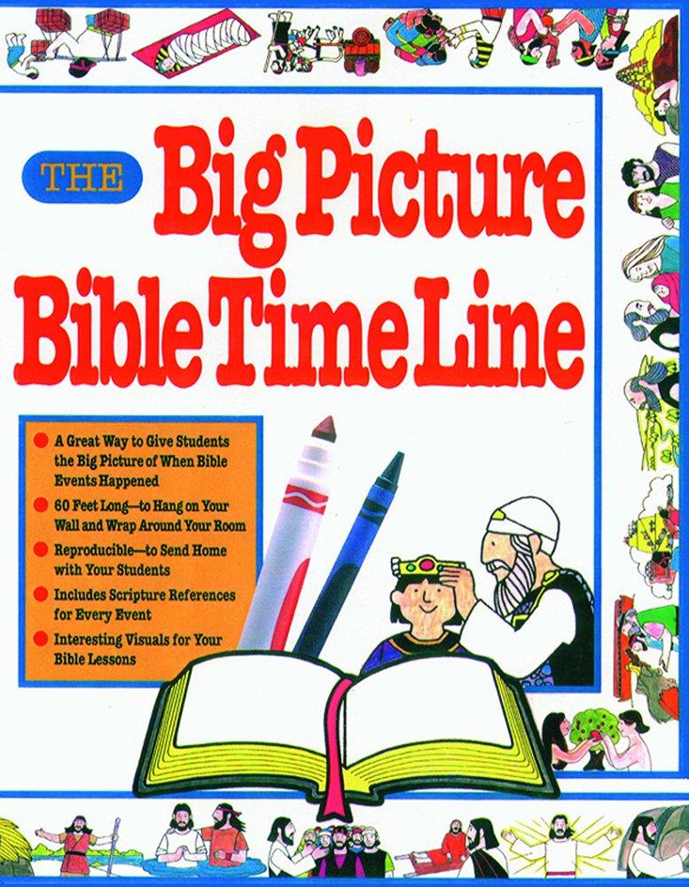 The Big Picture Bible Timeline Books Gospel Light 9780830714728 Amazon