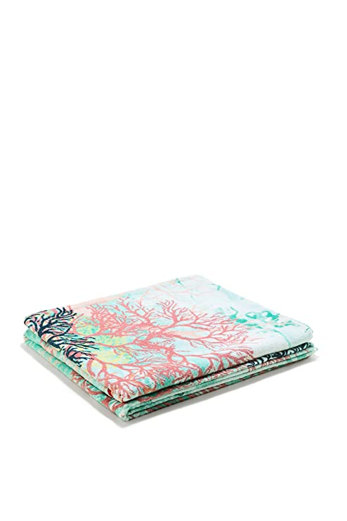 Desigual Toalla de playa under the sea coral, talla – 95 x 150
