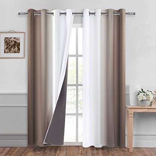 DWCN Ombre 100 Blackout Curtain