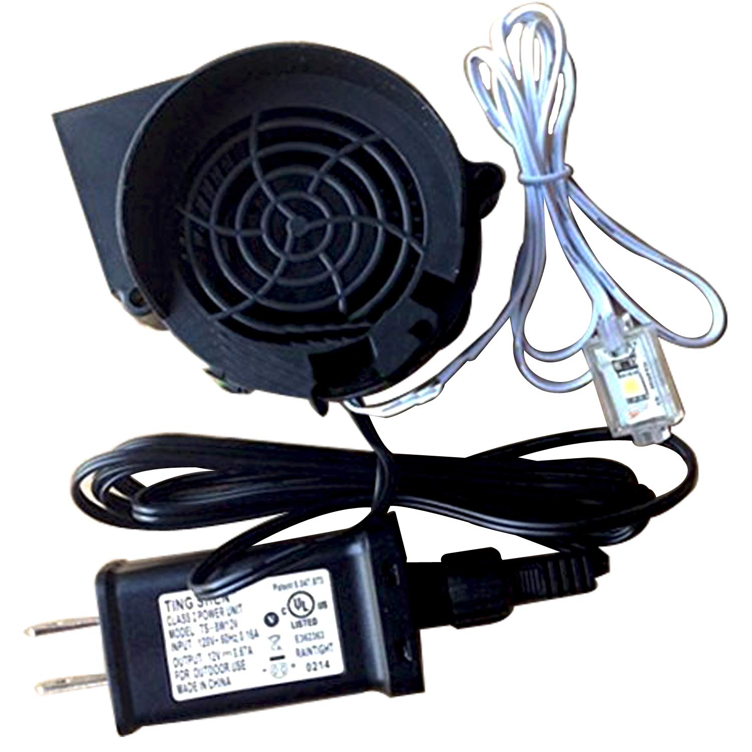 Gemmy Inflatable Replacement 15 A Fan Blower With 12v 15a Adapter Five Wire Diagram Harbor Breeze Remote And 6 Long Light String 3 Very Bright Led Lights Model Jdh1232s By Yfan