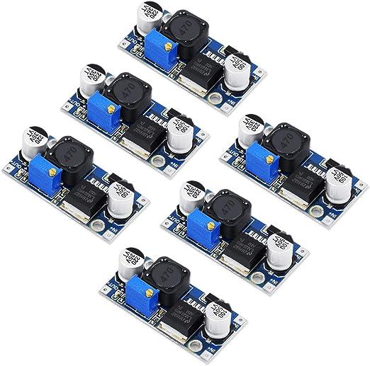 Hausprofi Lm2596 Dc Dc Spannungsregler Abwärtswandler Elektronik