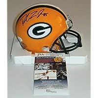 $160 » PACKERS Robert Tonyan signed mini helmet w/ #85 JSA COA AUTO Autographed GB TE - Autographed NFL Mini Helmets