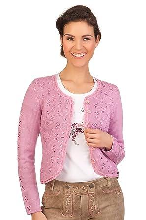 online store 2234e 7fde5 Spieth & Wensky Damen Trachten Strickjacke - Enrica - rosa ...
