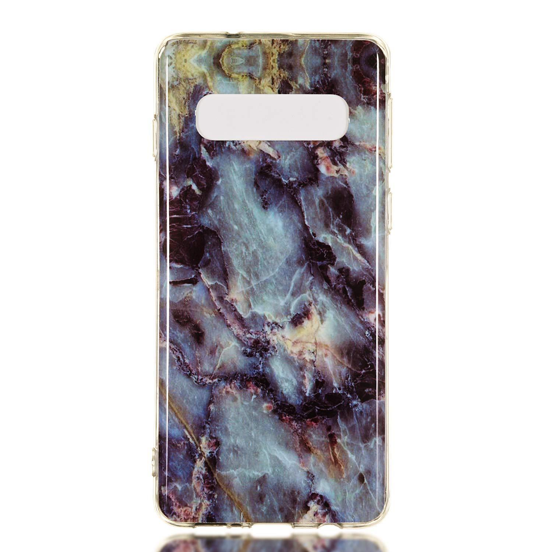LOYHU190118#10 Housse Gel Silicone Anti-Choc Anti-Rayures Souple Coque de Protection pour Samsung Galaxy S10 Lomogo Coque Galaxy S10
