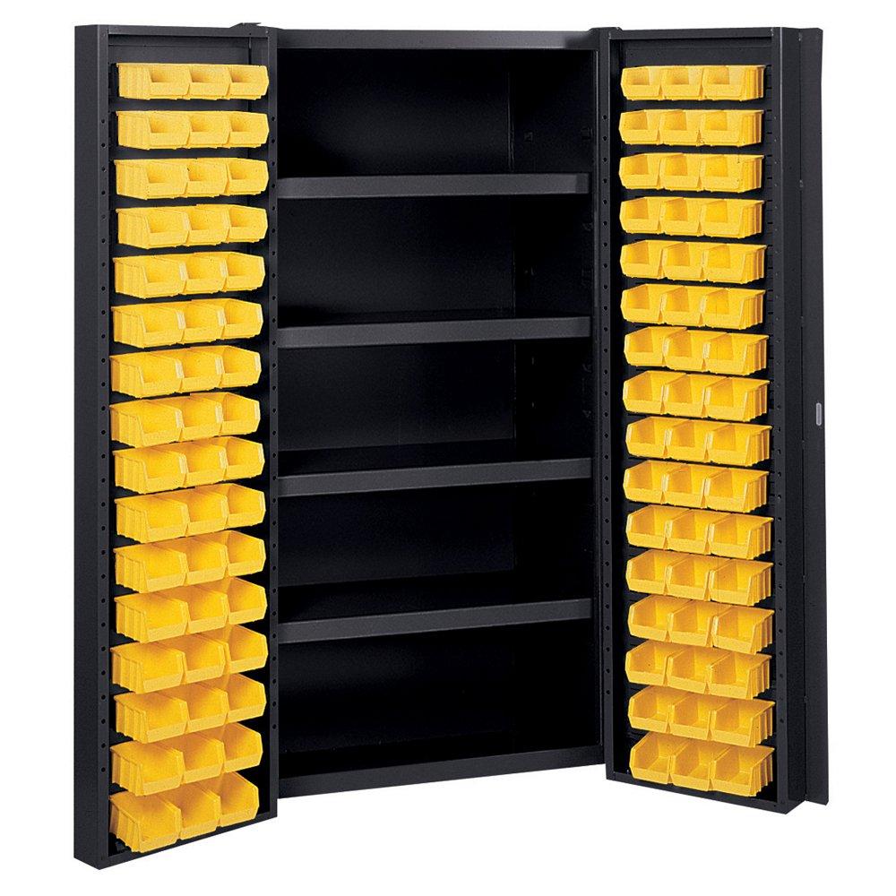Amazon.com: Edsal Manufacturing BC6202BLK Industrial Bin Storage Cabinet:  Industrial U0026 Scientific