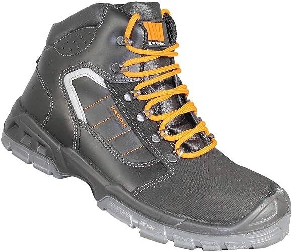 Cardiff Chaussures SRC Noir Travail Ergos Haute Bauschuhe S3 POXkuiZ
