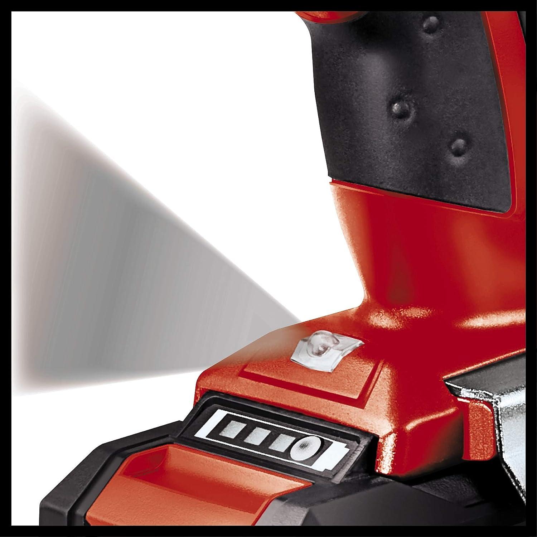 Negro Rojo Einhell 4513690 TALADRO SIN CABLE LITIO TE-CD 18 Li con 1,5 Ah de la bater/ía y el cargador 27 W 18 V
